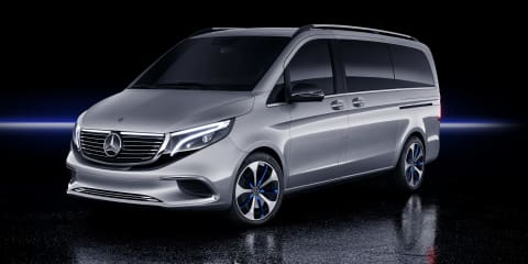 Mercedes-Benz Concept EQV revealed