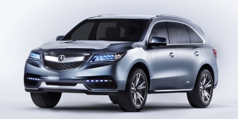 Honda MDX: third-generation SUV concept revealed