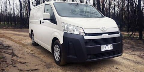 2020 Toyota HiAce LWB petrol auto review