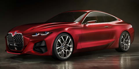 BMW Concept 4 revealed