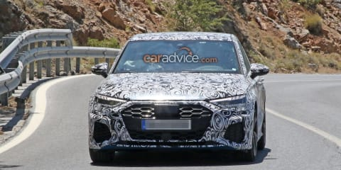 2020 Audi S3 sedan spied