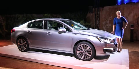 2015 Peugeot 508 First Look : Mallorca, Spain