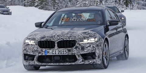 2021 BMW M5 spied winter testing