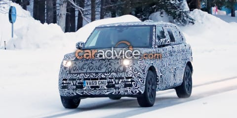 2021 Range Rover spied testing in long-wheelbase guise