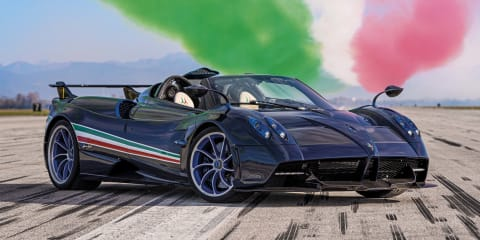2021 Pagani Huayra Tricolore revealed
