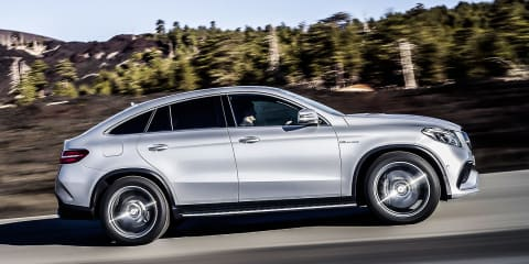 Mercedes-Benz GLE Coupe could have beaten BMW X6 to market