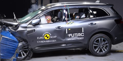 Renault Koleos scores five-star ANCAP rating