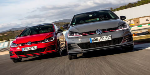 Volkswagen Golf GTI TCR here in October
