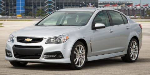 Chevrolet SS priced from US$44,470