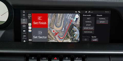 Porsche upgrades its Track Precision App for iPhones