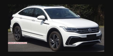 2021 Volkswagen Tiguan X coupe SUV revealed in pre-release images
