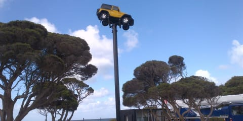 Jeep Wrangler reaches new heights