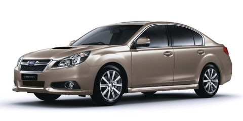 2013 Subaru Liberty: new engine, revised dynamics for updated range