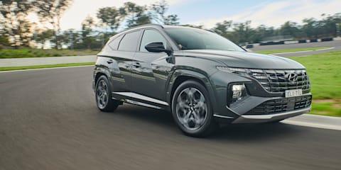 2021 Hyundai Tucson prototype preview drive