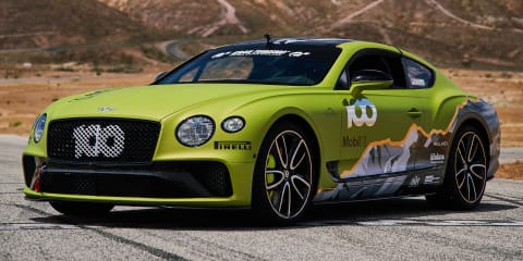 Bentley Continental GT to attempt Pikes Peak record