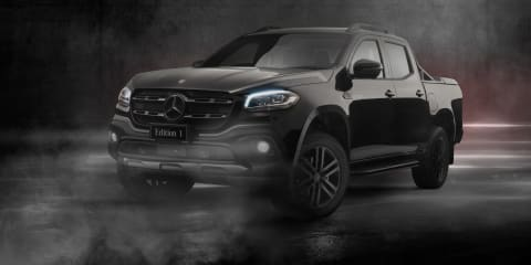 2019 Mercedes-Benz X350d Edition 1 revealed