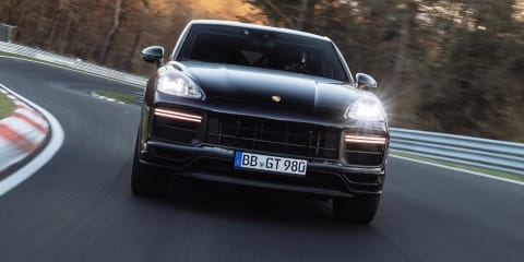 New high-performance Porsche Cayenne Coupe variant breaks Nurburgring SUV lap record