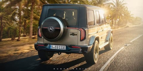 Mercedes-Benz EQG: Upcoming electric off-roader imagined