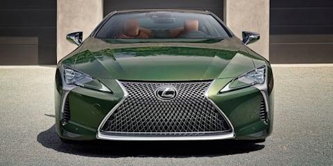 2020 Lexus LC500 Inspiration Series revealed, here Q4 - UPDATE
