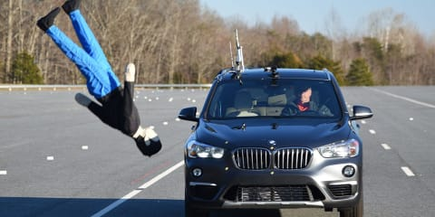 BMW X1 gets 'no credit' in IIHS pedestrian AEB testing