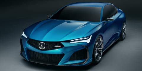 Acura Type S concept unveiled