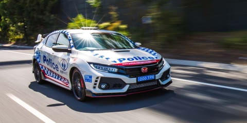 Honda Civic Type R police car: NSW gets hot hatch