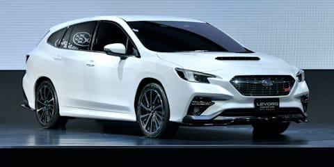 Subaru Levorg STI Sport Prototype unveiled