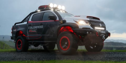 Holden Colorado ROX concept revealed in New Zealand