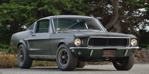 Original Bullitt Mustang sells for record $3.4 million in the US