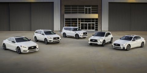 Infiniti Edition 30 models revealed for Pebble Beach, not for Oz