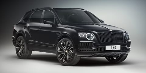 Bentley Bentayga V8 Design Series revealed