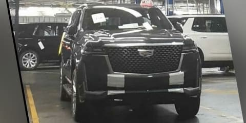 2021 Cadillac Escalade leaked undisguised