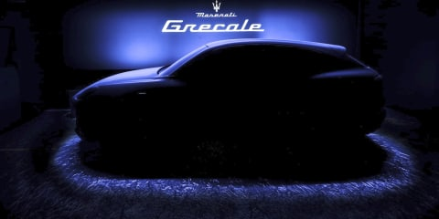 2021 Maserati Grecale teased; new GranCoupe, Quattroporte and Levante to follow
