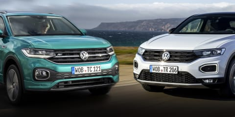 FIRST LOOK: The differences between the Volkswagen T-Cross and T-Roc