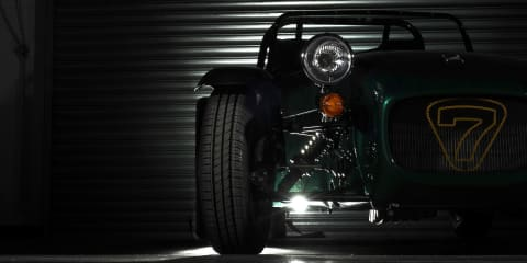 Caterham Seven: lightweight base model due this year