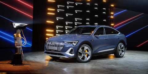 Audi e-tron Sportback revealed, here 'second half' of 2020