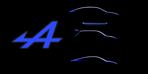 Alpine teases new electric range: Sports car, hot hatch and mid-size coupe SUV due from 2024