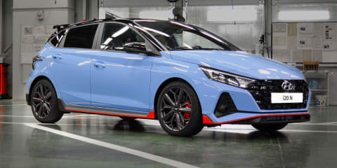2021 Hyundai i20 N starts production ahead of Australian launch; hot hatch quicker than expected