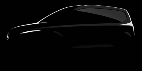 2022 Mercedes-Benz T-Class small people-mover teased