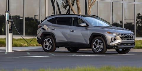 2022年,现代途胜混合动力和插电式混合动力汽车暂时不会在澳大利亚上市