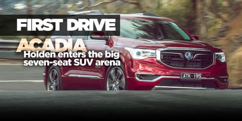 2019 Holden Acadia review: Australian launch