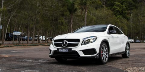 2014 Mercedes-Benz GLA45 AMG Speed Date