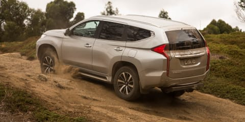 2016 Mitsubishi Pajero Sport: Two- and four-wheel drive modes explained