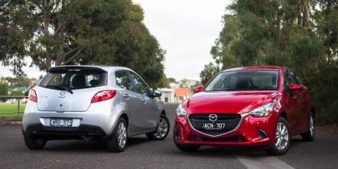 Mazda 2 Old v New Comparison: Second-generation Maxx v third-generation Maxx
