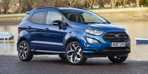 Ford EcoSport recycles 470 plastic bottles for carpets
