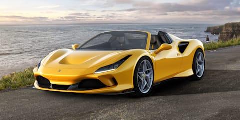 2020 Ferrari F8 Spider unveiled
