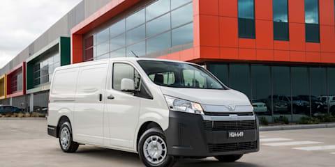 2021 Toyota HiAce V6 petrol to be axed