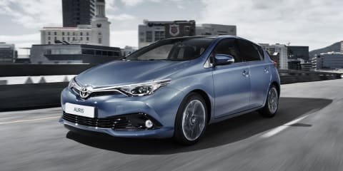 2015 Toyota Corolla hatchback - new images and details