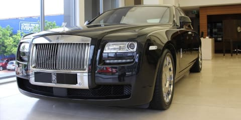 Rolls-Royce Ghost Art Deco: $740K Oz special is one of a kind