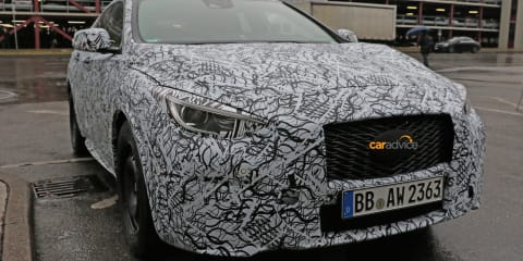 2016 Infiniti Q30 small luxury hatchback spied